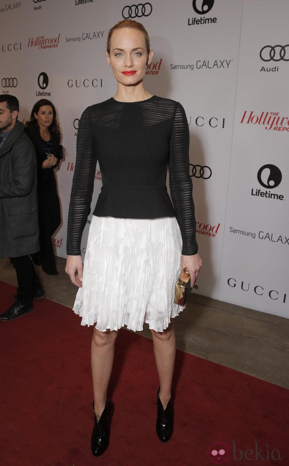 Amber Valletta en The Hollywood Reporter's Annual Power 100 Women 2013