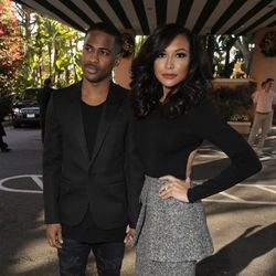 Big Sean y Naya Rivera en The Hollywood Reporter's Annual Power 100 Women 2013