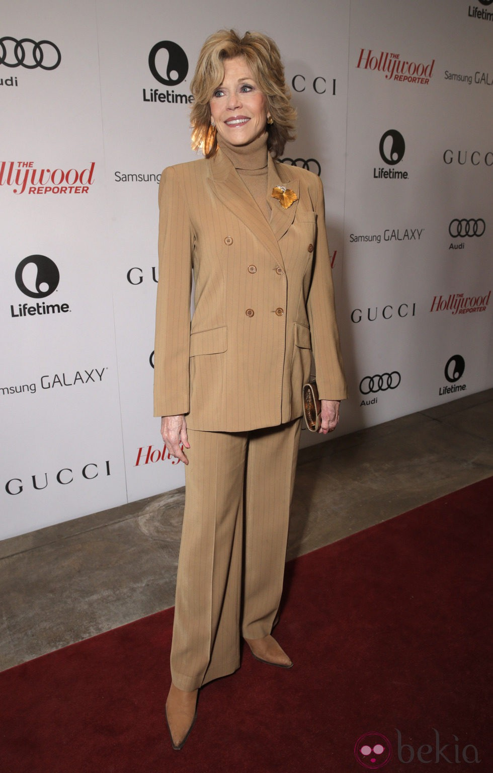Jane Fonda en The Hollywood Reporter's Annual Power 100 Women 2013