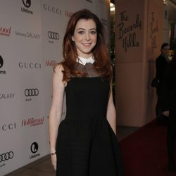 Alyson Hannigan en The Hollywood Reporter's Annual Power 100 Women 2013