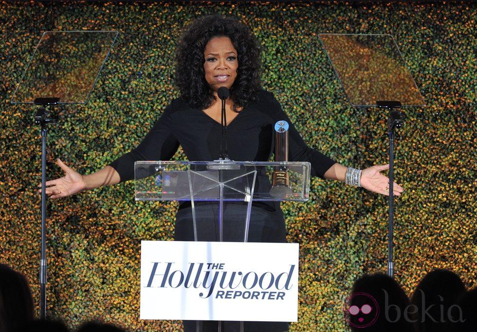 Oprah Winfrey en The Hollywood Reporter's Annual Power 100 Women 2013