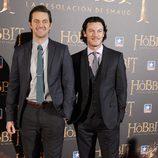 Richard Armitage y Luke Evans en el estreno de 'El Hobbit: La desolación de Smaug' en Madrid