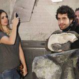 Elena Furiase y Javier Suárez en el estreno de 'El Hobbit: La desolación de Smaug' en Madrid