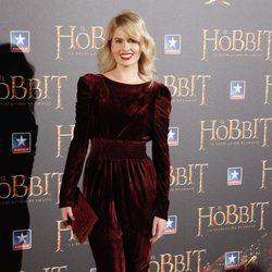 Adriana Abenia en el estreno de 'El Hobbit: La desolación de Smaug' en Madrid