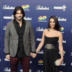 Melendi y La Dama en los Premios 40 Principales 2013