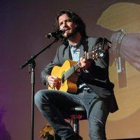 Manuel Carrasco en los Premios Pie Derecho 2013 de Cadena 100