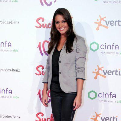 Lara Álvarez en los Premios Pie Derecho 2013 de Cadena 100