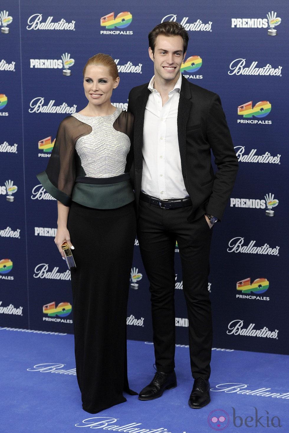 Soraya y Miguel Herrera en los Premios 40 Principales 2013