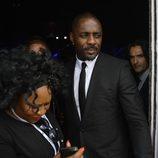 El actor Idris Elba durante el funeral de Nelson Mandela en Qunu