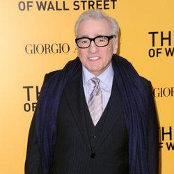 Martin Scorsese en el estreno de 'El lobo de Wall Street' en Nueva York
