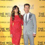 Matthew McConaughey y Camila Alves en el estreno de 'El lobo de Wall Street' en Nueva York