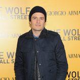 Orlando Bloom en el estreno de 'El lobo de Wall Street' en Nueva York