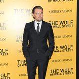 Leonardo DiCaprio en el estreno de 'El lobo de Wall Street' en Nueva York