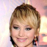 Jennifer Lawrence en la presentación de 'Los juegos del hambre'