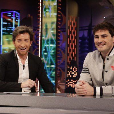 Pablo Motos entrevista a Iker Casillas en 'El Hormiguero'