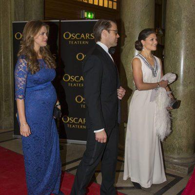 La princesa Magdalena, el príncipe Daniel y la princesa Victoria en en el homenaje celebrado con motivo del 70º cumpleaños de la monarca