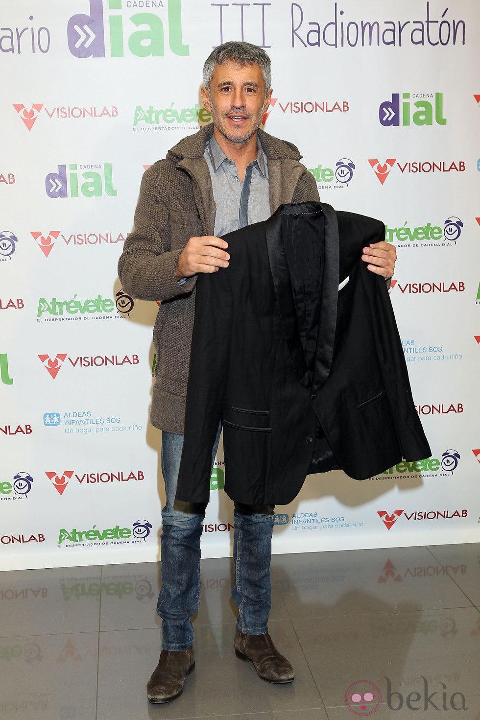 Sergio Dalma en la 3º edición del radiomaratón solidario de 'Cadena Dial'