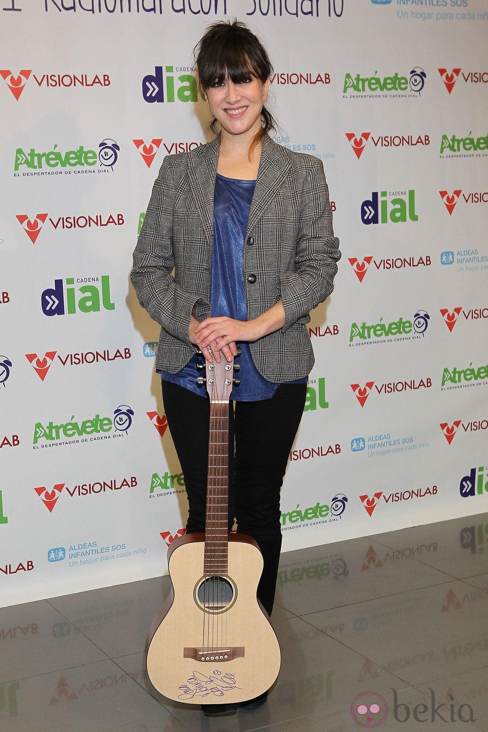Mai Meneses en la 3º edición del radiomaratón solidario de 'Cadena Dial'