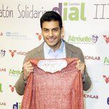 Carlos Rivera en la 3º edición del radiomaratón solidario de 'Cadena Dial'