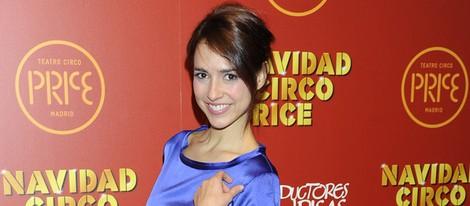 Cristina Brondo en el estreno del espectáculo 'Navidad en el circo Price'
