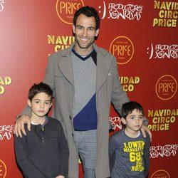 Darío Barrio en el estreno del espectáculo 'Navidad en el circo Price'