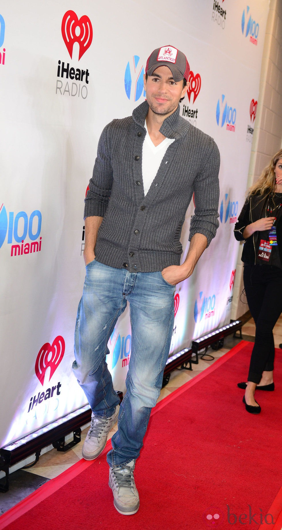 Enrique Iglesias en el Jingle Ball 2013 en Florida