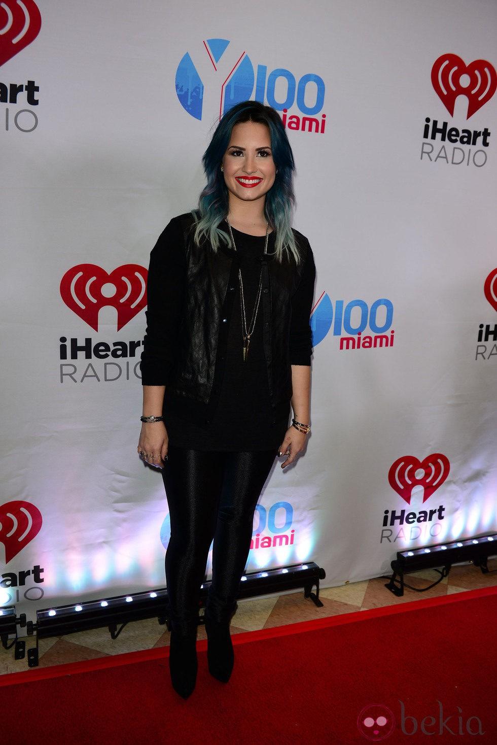 Demi Lovato en el Jingle Ball 2013 en Florida