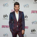 Adam Lambert en el estreno de 'Britney Spears: Piece of Me' en Las Vegas