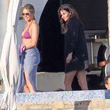 Las actrices Jennifer Aniston y Courteney Cox de vacaciones en Los Cabos, México