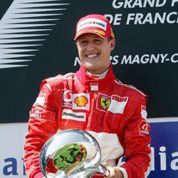 Michael Schumacher en el GP de Francia 2006