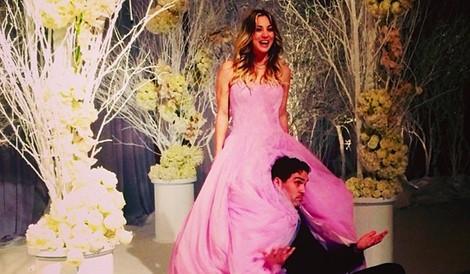 Kaley Cuoco y Ryan Sweeting el día de su boda