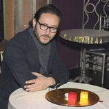 Carlos Santos en la presentación de 'Bienvenidos al Lolita'