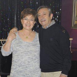 Beatriz Carvajal y Luis Varela en la presentación de 'Bienvenidos al Lolita'