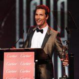 Matthew McConaughey en la gala de premios del Festival Internacional de Palm Springs 2014