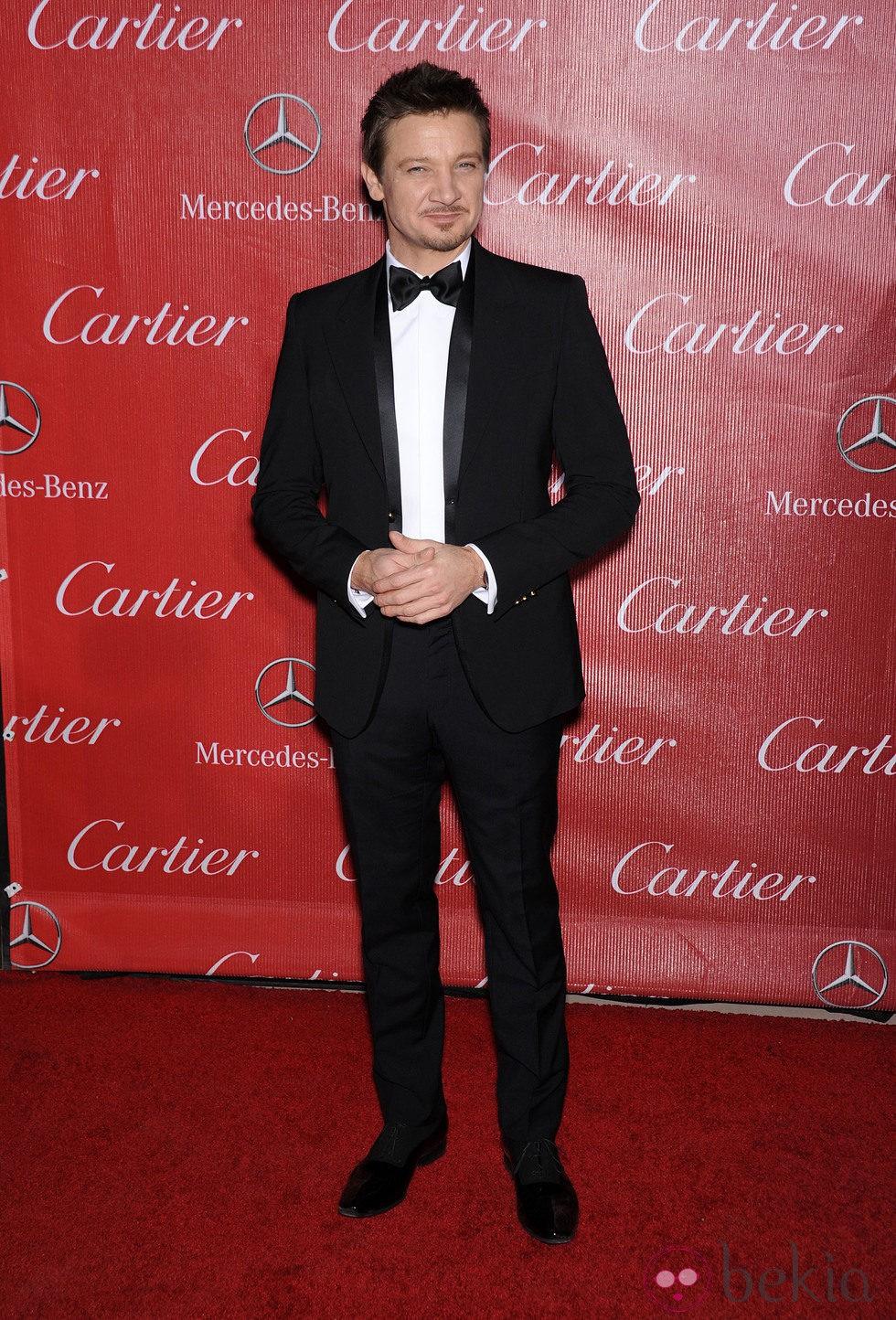 Jeremy Renner en la gala de premios del Festival Internacional de Palm Springs 2014