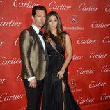 Matthew McConaughey y Camila Alves en la gala de premios del Festival Internacional de Palm Springs 2014
