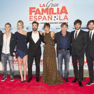 Reparto de 'La gran familia española'