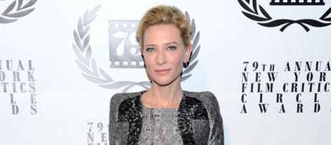 Cate Blanchett en los Premios del Círculo de Críticos de Nueva York 2014