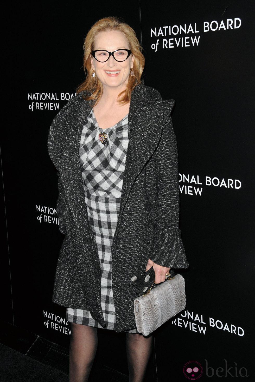 Meryl Streep en la entrega de los National Board of Review 2014