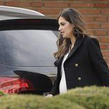 Sara Carbonero sale del hospital tras el nacimiento de su primer hijo