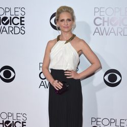 Sarah Michelle Gellar en la alfombra roja de los People's Choice Awards 2014