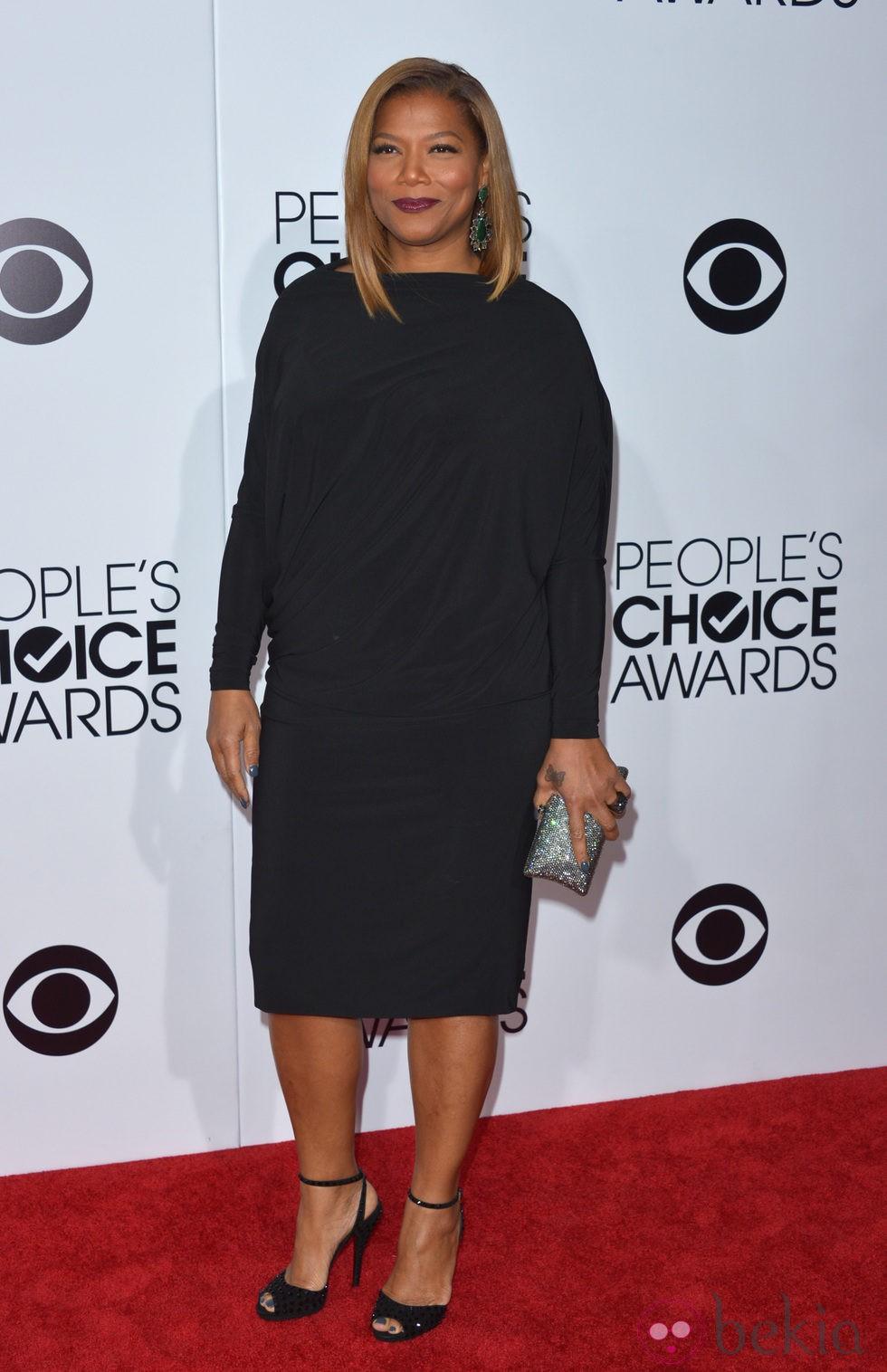 Queen Latifah en la alfombra roja de los People's Choice Awards 2014