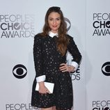 Sara Bareilles en la alfombra roja de los People's Choice Awards 2014