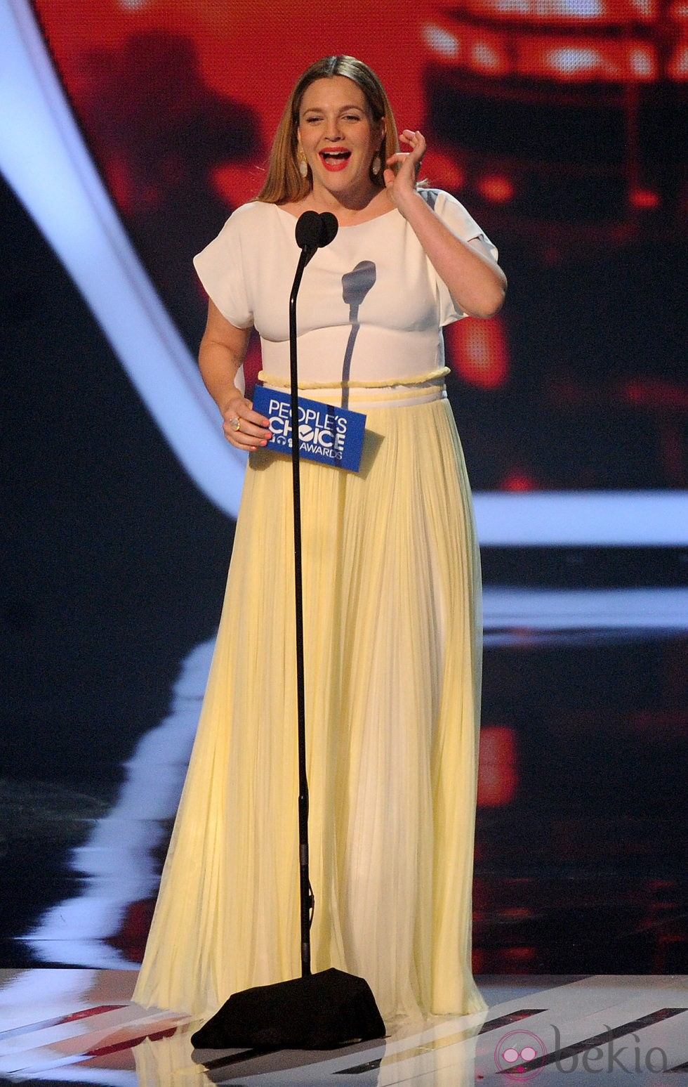 Drew Barrymore en los People's Choice Awards 2014