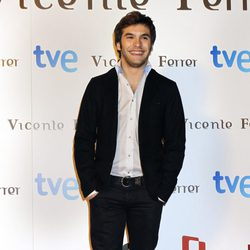 Ricardo Gómez en el estreno de 'Vicente Ferrer'