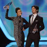 Ian Somerhalder y Nina Dobrev, pareja con más química de los People's Choice Awards 2014
