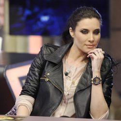Pilar Rubio pensativa en su debut en 'El Hormiguero'