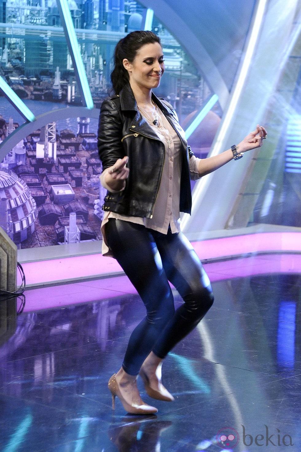 Pilar Rubio bailando en 'El Hormiguero'