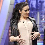 Pilar Rubio luce embarazo en su debut en 'El Hormiguero'