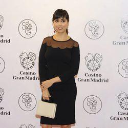 Carmen Ruiz en la inauguración de un casino en Madrid